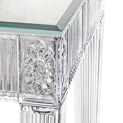 Crystal bathroom furniture, Art. 2544/85 with mirror top