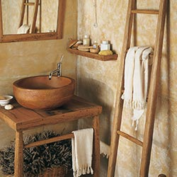 Mobili bagno linea Etnica: Arredo bagno e design Bianchini & Capponi