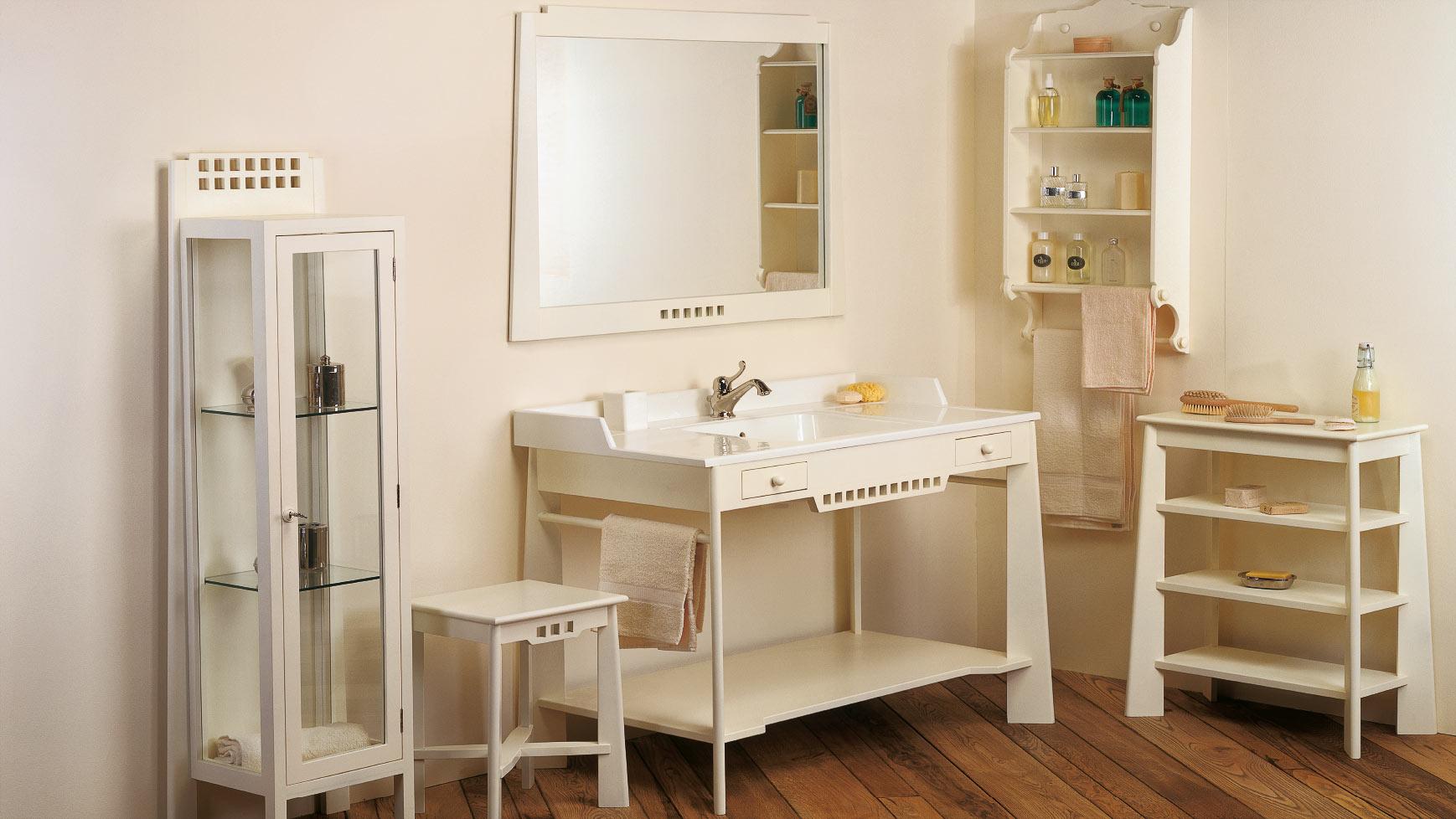 Collezione bagno mediterranea provenzale bianchini capponi - Mobile bagno provenzale ...