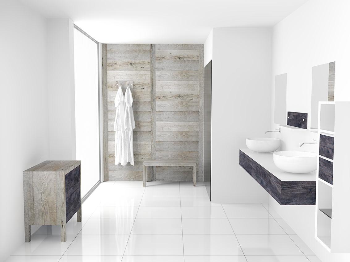 Mobili bagno Moderni: Materia Multicolor, Design e Arredamento interni
