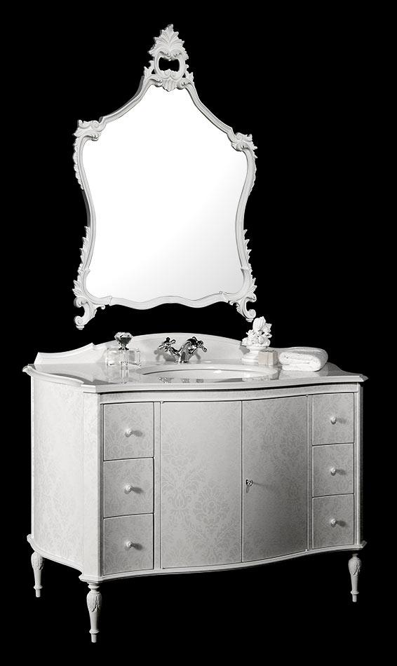 Collezione bagno stile rinascimento mobili bagno classici for Mobili bagno bianchi