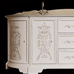 collezione bagno stile rinascimento: mobili bagno classici made in italy