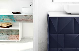 Bianchini&Capponi Moderne Badezimmermöbel: Linea Urban Chic