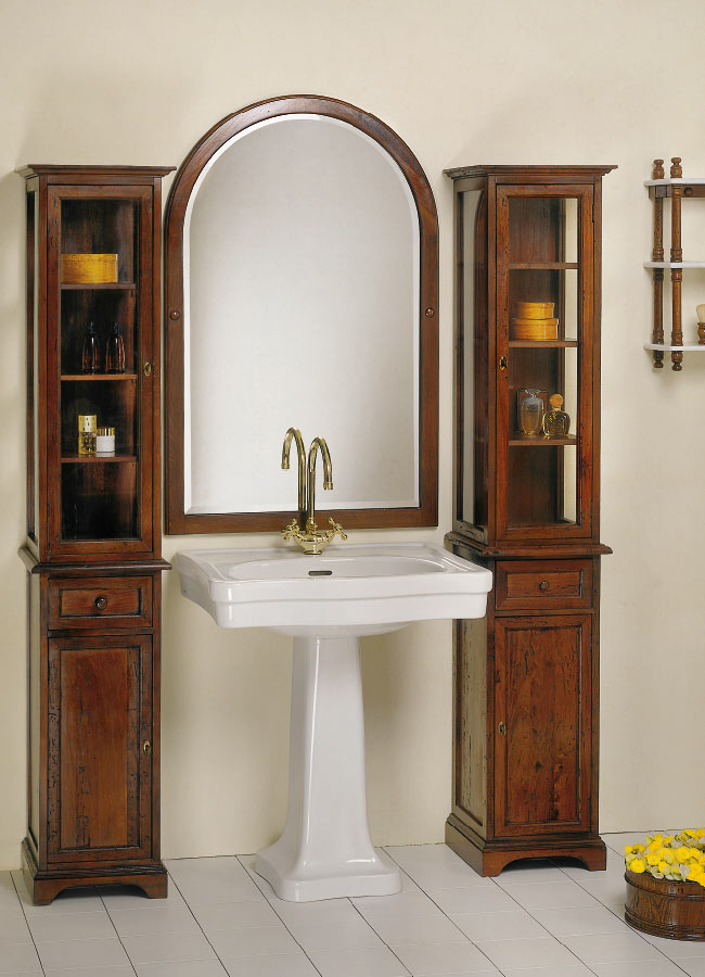 Collezione mobili bagno in stile linea toscana 800 - Mobili bagno palermo ...