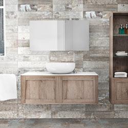 Collezione bagno artdecò Bianchini & Capponi: mobili e arredo bagno ...