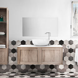 mobili bagno moderni linea urban chic - arredo bagno moderno - Ambientazioni Bagni Moderni