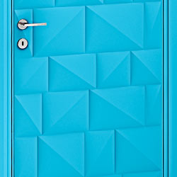 Bianchini &amp Capponi - Contemporary Doors Collection - Art. 2780 finitura azzurro