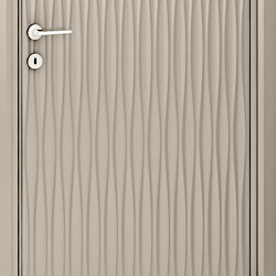 Bianchini &amp Capponi - Contemporary Doors Collection - Linea Design Onde - Art. 2880