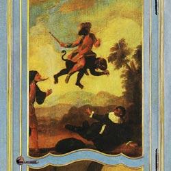 Bianchini&Capponi collezione Porte - Porta in legno policromo 700 stile Veneziano - decoro 10 + 8
