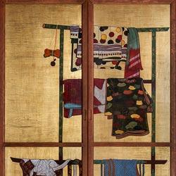 Bianchini &amp Capponi - Collezione Porte Classiche - porta deco periodo edo giapponese - decoro 1