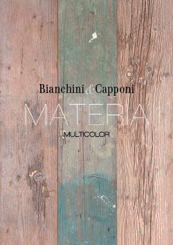 La collezione Materia Multicolor esalta il cocetto di materiale di recupero: mobili bagno, consolle, complementi d'arredo in legno made in Italy.