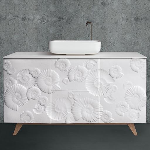 Mobile bagno moderno per un arredo moderno 100% made in Italy