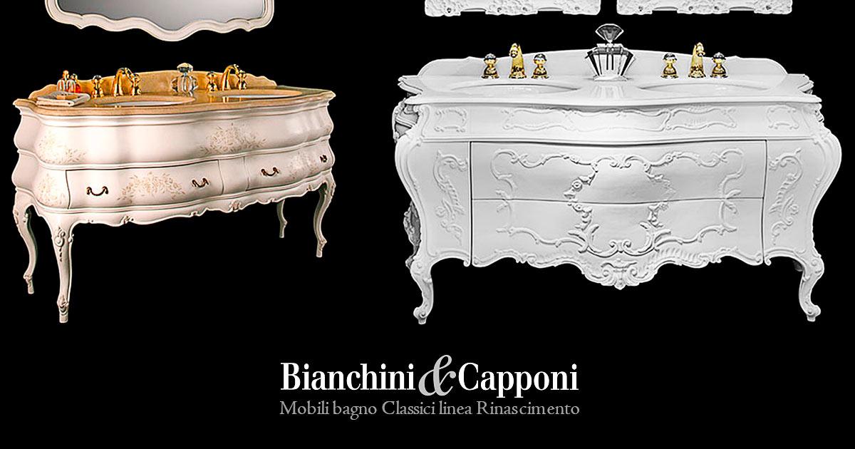 Collezione Bagno Stile Rinascimento Mobili Bagno Classici Made In Italy